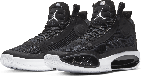 "Баскетбольные кроссовки Air Jordan 34 (XXXIV) ""Black\White"" (40-46)"