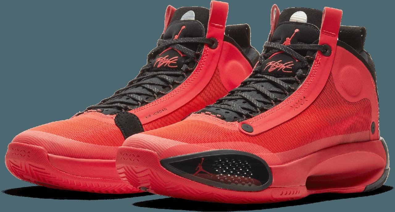 """Баскетбольные кроссовки Air Jordan 34 (XXXIV) """"InfraRed"""" (40-46)"""