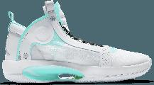 "Баскетбольные кроссовки Air Jordan 34 (XXXIV) ""White\Green"" (40-46), фото 3"