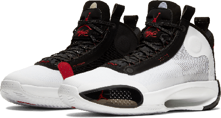"""Баскетбольные кроссовки Air Jordan 34 (XXXIV) """"White"""" (40-46), фото 2"""