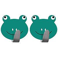 Tatkraft Frogs Самоклеющийся крючок из нержавеющей стали, 2 шт 20085