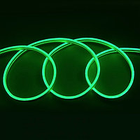Флекс неон зеленый 12 В (гибкий неон)