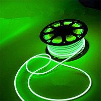 Флекс неон зеленый 220 В (гибкий неон)