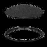 NHD-cover-Fabric-3 - Накладки (Чёрная ткань) для UAP-nanoHD, 3шт./3-Pack (Fabric) Design Upgradable Casing for, фото 5