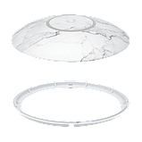 NHD-cover-Marble-3 - Накладки (Мрамор) для UAP-nanoHD, 3шт., 3-Pack (Marble) Design Upgradable Casing for, фото 6