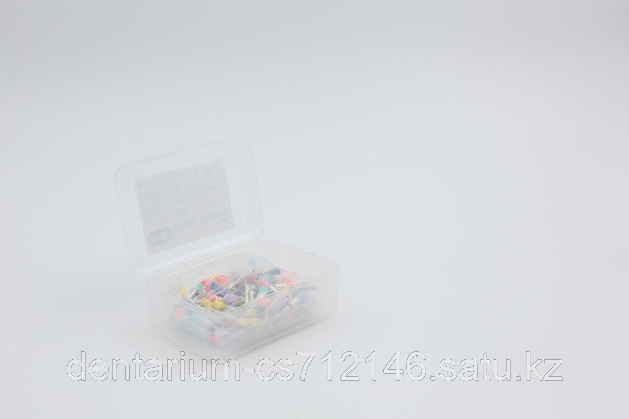 Щетки для полировки цветные стандарт , в уп 100 - фото 2