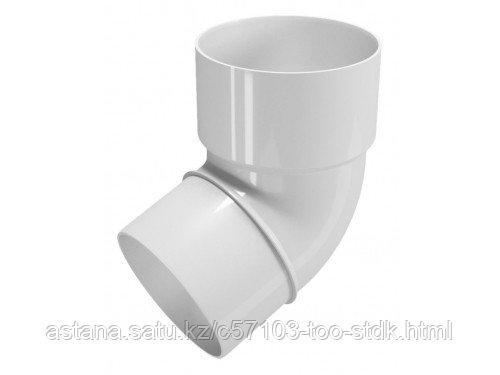 Колено трубы 135° ТН ПВХ, белый