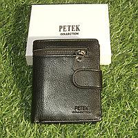 Мужское портмоне клатч кошелёк Petek Collection S-32 Black и Coffe. Видео обзор в описании!