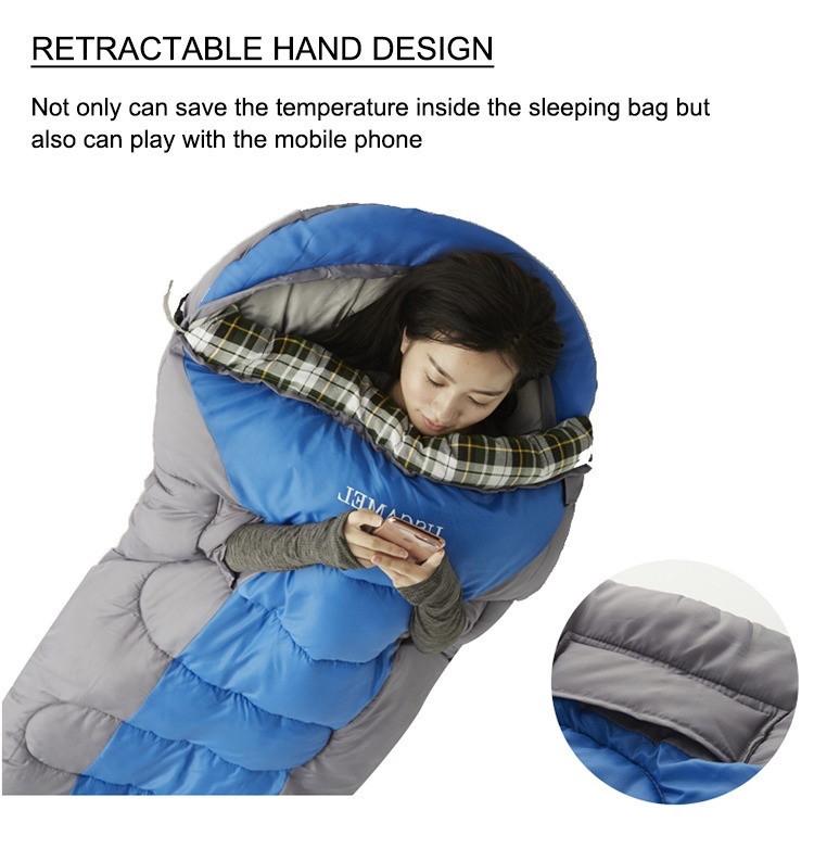Спальный мешок Playdo (190 + 30)* 75 см - фото 10