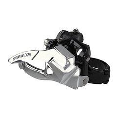 Sram  передний переключатель  X-9 2x10 Low Clamp 31.8/34.9Bottom Pull