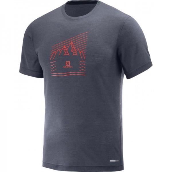 Salomon  футболка мужская Explore graphic