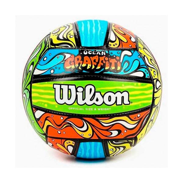 Wilson  мяч волейбольный Ocean Graffity