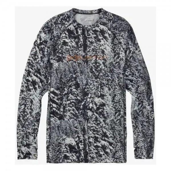 Burton  термобельё - футболка мужская с длинным рукавом AK Power Grid Crew