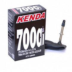 Велокамера Kenda F/V-48 27/28x3/4+1+1.1/16, 700x18-25C, 18/25-622/630