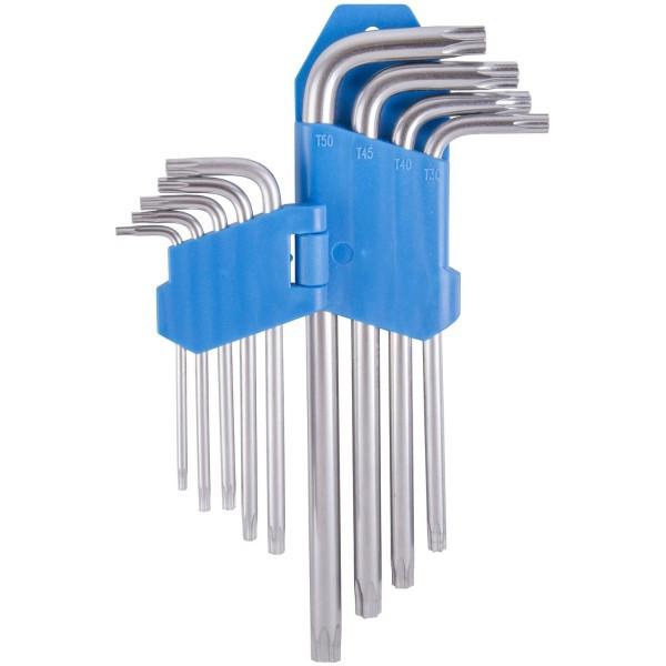 Ключи звездочки VENTURA T10/T15/T20/T25/T27/T30/T40/T45/T50 steel