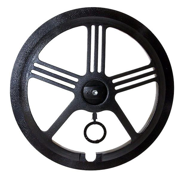 Защита цепи Messingschlager PVC, universal mounting  black, for 46/48