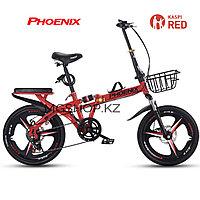 """Каспи Ред!!! Скоростной складной велосипед для города, 16"""""""
