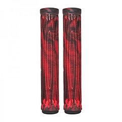 Ручки (грипсы) на трюковой самокат AO Swirl Black/Red