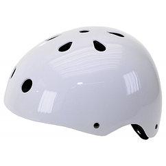 Шлем Ventura freestyle skating BMX Outdoor size: M glossy white