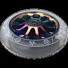 Колесо на трюковой самокат Комета Гиперскачок (Прозрачный / Неохром), фото 2