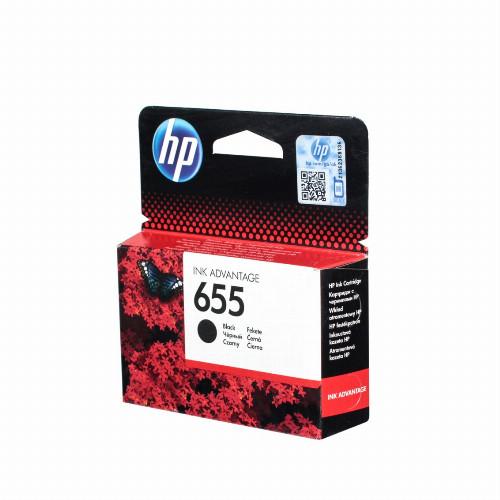 Струйный картридж HP 655 (Оригинальный, Черный - Black) CZ109AE