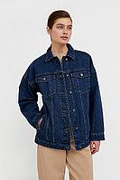 Базовая джинсовая куртка Finn Flare, цвет темно-синий, размер 2XL