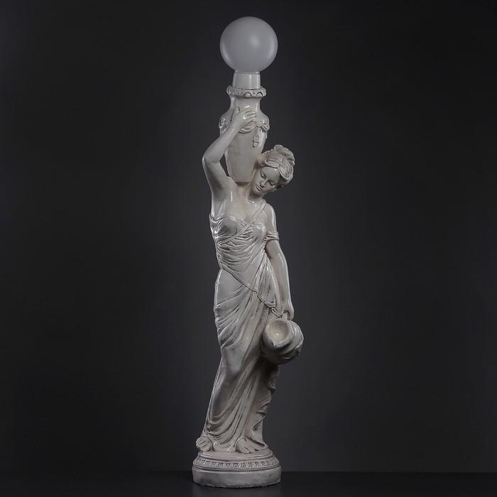 """Лампа интерьерная """"Девушка с кувшином"""" состаренный 140см"""