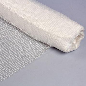 Плёнка полиэтиленовая, армированная, толщина 180 мкм, 2 × 50 м, белая