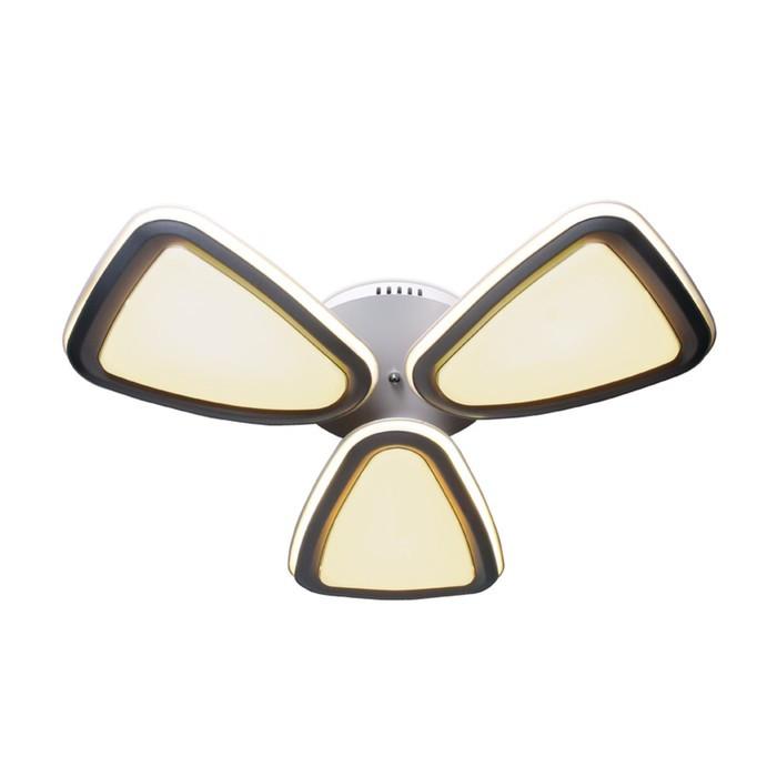 Люстра Granule 204Вт LED 3000-6400К белый с ПДУ