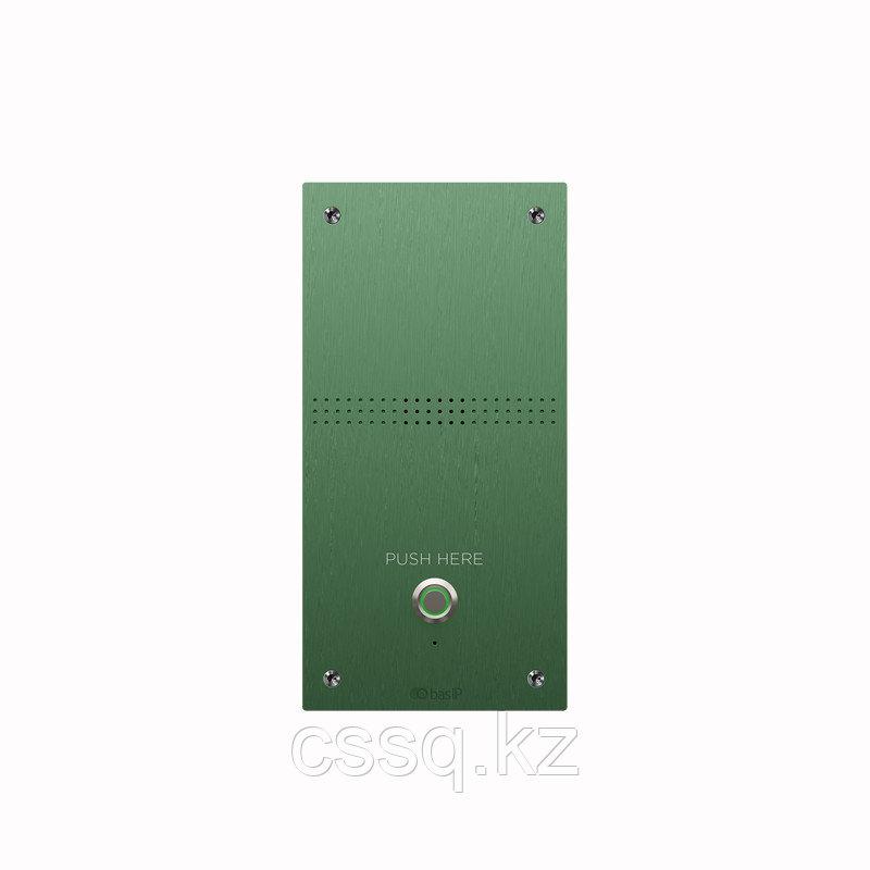 BasIP AV-04AFD GREEN Специализированная вызывная аудио-панель