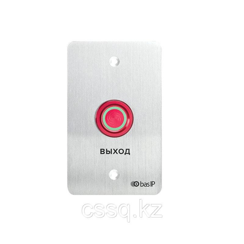 BasIP SH-45R SILVER  Пьезоэлектрическая кнопка выхода