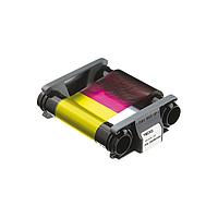 Evolis CBGR0100C Полноцветная лента YMCKO для Badgy200 на 100 отпечатков