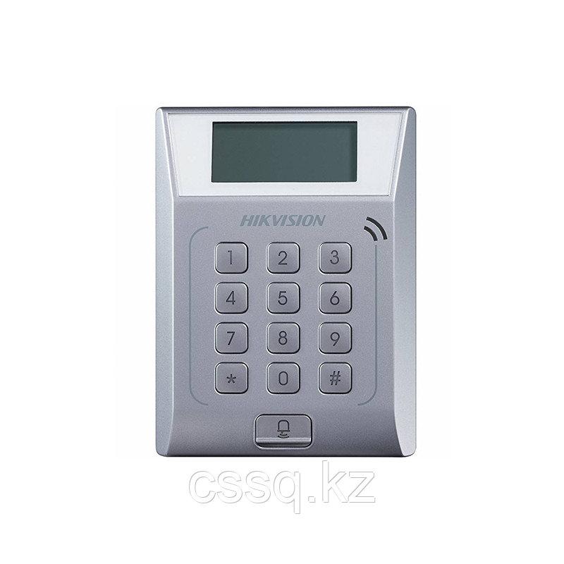 Hikvision DS-K1T802E Терминал доступа со встроенным считывателем EM карт