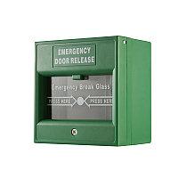 Hikvision DS-K7PEB (зеленая) Тревожная кнопка выхода