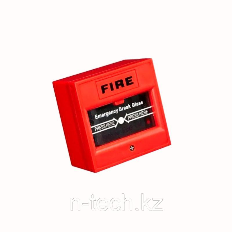 Hikvision DS-K7PEB (красная) Тревожная кнопка выхода