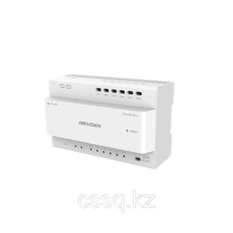 Hikvision DS-KAD706 Двухпроводной контроллер