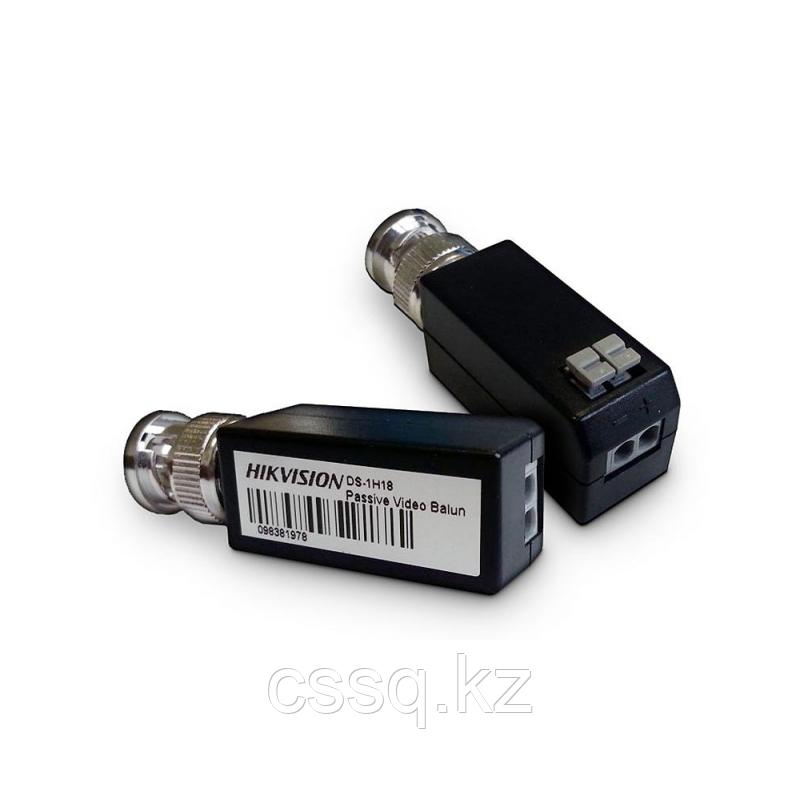 Hikvision DS-1H18 Пассивный приемо-передатчик видеосигнала по витой паре