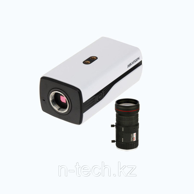 Hikvision DS-2CC12D9T HD TVI 1080Р корпусная видеокамера + объектив HV1140D-8MPIR