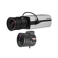 Hikvision DS-2CC12D9T HD TVI 1080Р корпусная видеокамера + объектив TV2710D-MPIR