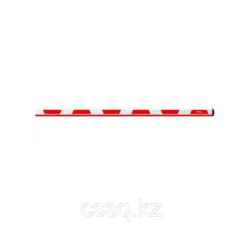 PERCo-GBO4.3 Стрела шлагбаума, длина 4,3 м прямоугольно-овальное сечение