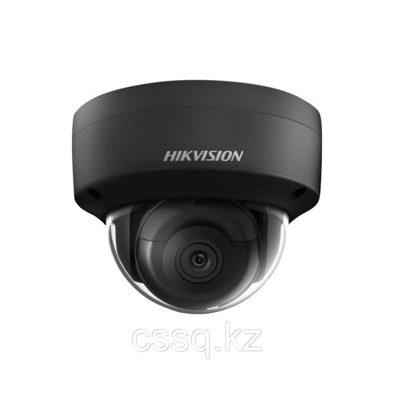 Hikvision DS-2CD2123G0-I (2,8 мм) BLACK IP видеокамера 2 МП купольная