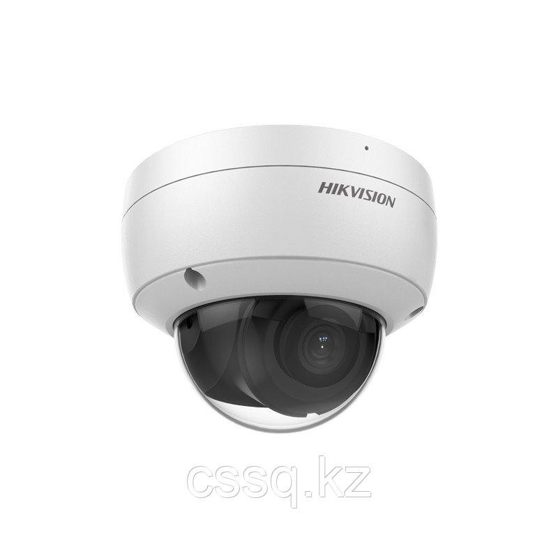 Hikvision DS-2CD2123G2-IU (2,8 мм) IP видеокамера 2 МП купольная со встроенным микрофоном