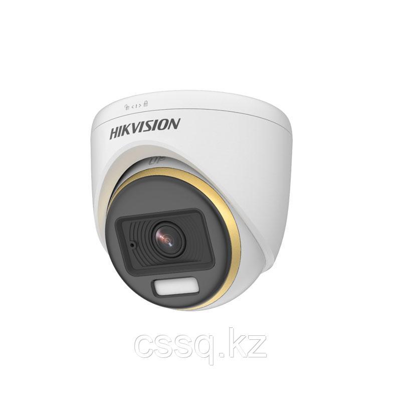 Hikvision DS-2CE72DF3T-F (3.6 мм) TVI  купольная видеокамера, ColorVu, 1080P (АКЦИЯ)