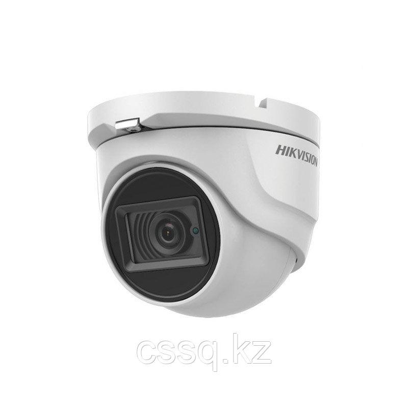 Hikvision DS-2CE72DFT-FC28  (2,8 мм) (Акция) TVI  купольная видеокамера, ColorVu, 1080P