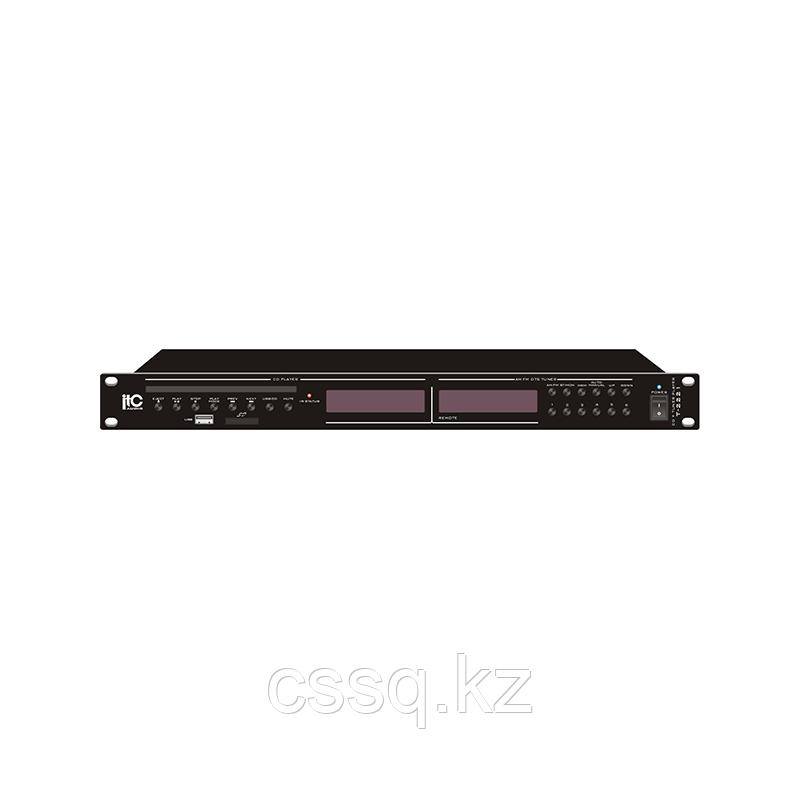ITC T-2221 Проигрыватель CD\MP3  с SD флеш картой 4GB