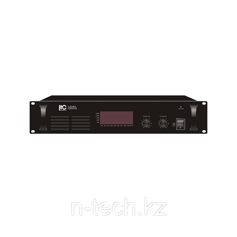 ITC T-6204 Блок мониторинга на 10 каналов, 4,3 кг, 2U