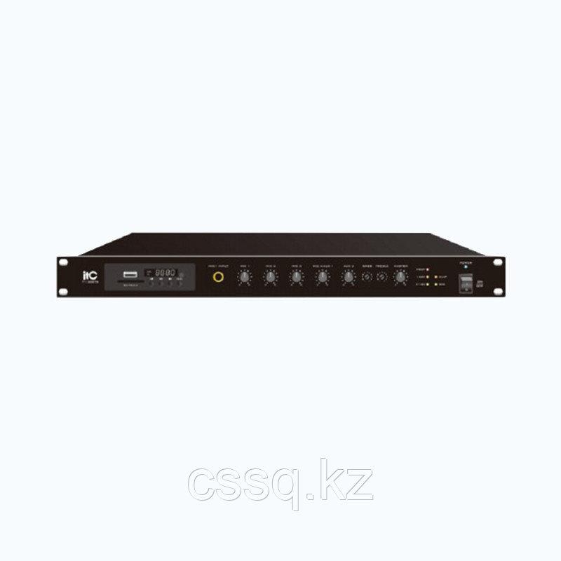 ITC TI-500DTB Усилитель микшерный, цифровой с Мр3, тюнером, Bluetooth