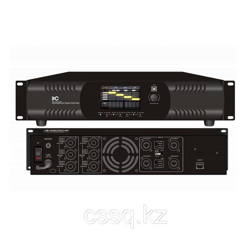 ITC TS-4500DT Цифровой усилитель с протоколом DANTE