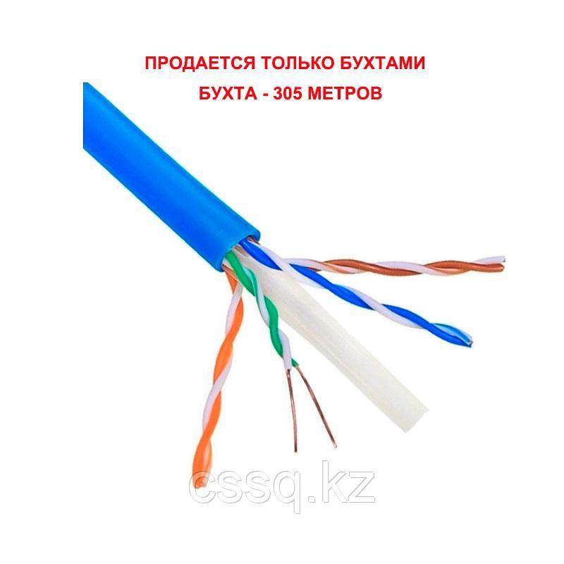 KCEP Кабель U/UTP 4х2хAWG 24/1 PVC Cat. 6