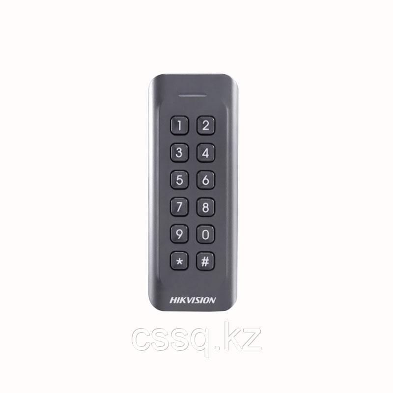 Hikvision DS-K1802MK Считыватель Mifare карт с механической клавиатурой